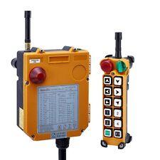 12 Channels Overhead Hoist Crane Radio Remote Control Multi voltage 18~440V 1+1