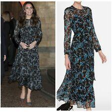 RARE LK Bennett Cersei Evergreen Floral Dress Duchess UK10/US6