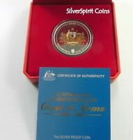 2008 AUSTRALIA COAT OF ARMS Silver Proof Coin