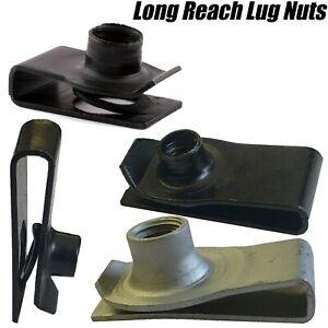 M6 M8 M10 LONG REACH CHIMNEY U NUT LUG NUTS SPEED SPIRE CAPTIVE CLIPS THREADED