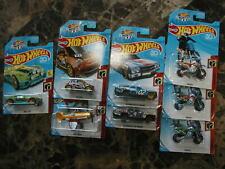 Hot Wheels Set of 5 DAREDEVELS Super TREASURE HUNT + 3 Variations RARE