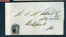 Scott #2 Washington Imperf Used on Cover (Stock #2-40)