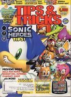 Tips & Tricks March 2004 Sonic Heroes, NFL Street w/ML VG 070816DBE2