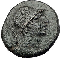 Amisos Pontus 105BC MITHRADATES VI the GREAT Time Ares Ancient Greek Coin i60993