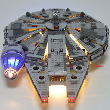 USB LED LIGHT SET ONLY Fit To Lego STAR WARS MILLENIUM FALCON 75105 Awakens New