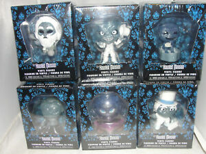 "6pc Set Funko Disney Haunted Mansion Vinyl 2""-3"" Figures-New"