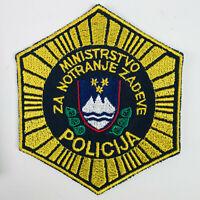 Slovenia Police Europe Policija Patch (I)