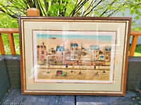 Eugene Valentin Pencil Signed Artist  Lithograph with COA 15/225~34'' by 25''