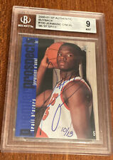 2000-01 SP Authentic Buyback Jermaine Oneal Rookie Auto /13 RC BGS 9 #143 '96-97