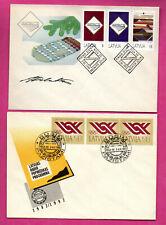 LATVIA LETLAND LOT OF 12 FDC 1990-1993s 922