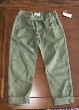 Old navy green girl pant NWT sz S (6-7)