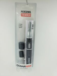 ConAir Personal Hair Trimmer, Eyebrows, Nose, Ears, Sideburns, Travel, Gift D2