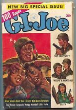 G.I. Joe #18 1952- Norman Saunders- Dan DeCarlo- 100 page giant G/VG