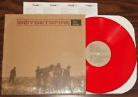 Scarce emo hardcore lp BOYSETSFIRE After the Eulogy 2000 Victory red vinyl NM j