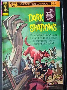 Dark Shadows #23 1973- FUN CATALOG- Gold Key Comics