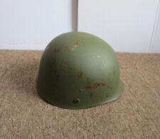 Us Vietnam War Steel Helmet Liner 1967 w/ Sweatband Headband