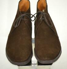 "New Crockett & Jones ""Chertsey"" Brown Suede Chukka Boots 10 D"