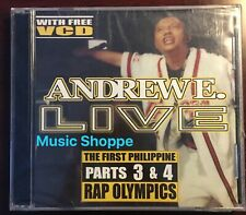 Andrew E. Live First Phil Rap Olympics parts 3&4 CD, Pinoy Rap Artist