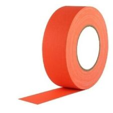 "Neon Orange Gaffers Tape 2"" Wide X 60 yrd Roll Gaff"