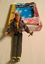 "Joe McIntyre New Kids on the Block Stage Doll, 12"" Clothes & Mic, Original Box"