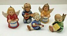Goebel / Hummel : 5 Angels - Bells, Candle Holders, Ornaments - Excellent.