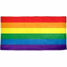 "Gay Pride Flag Towel Rainbow Beach Pool 30""x60"""