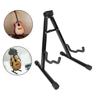 Guitar Stand Electric Bass Folding A Frame Foldable Portable Metal Music Stand