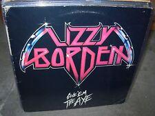 LIZZY BORDEN give em the axe ( rock ) metal blade