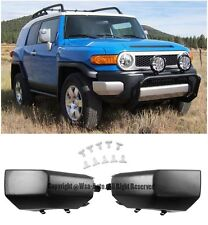 Front Bumper Pair Left & Right Side Replacement Pads For 07-14 Toyota FJ Cruiser