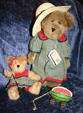 Boyds Bear Melinda Mcrind, Dixie, Watermelon tug a long Stand