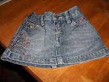 Gap Denim Mini Skirt.  Age 12-18 Months