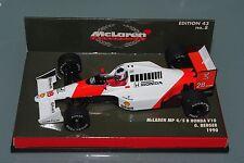 Minichamps F1 1/43 McLaren MP4/5B Honda V10 Gerhard Berger 1990