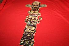 Horror Totem Pole T-Shirt - Unisex XL - Horror Block Exclusive