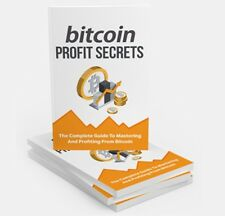 BITCOIN Profit Secrets! Brand New!  Free Shipping!