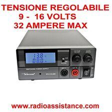 832 NFAR ALIMENTATORE 30-32 AMPERE TENSIONE REGOLABILE 9 / 16 VOLTS