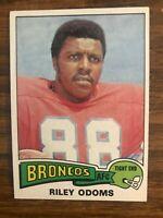 1975 Topps #470 Riley Odoms Denver Broncos NrMt