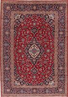 vintage 8x12 Traditional Floral Oriental Area Rug Wool Hand-Knotted STUNNING