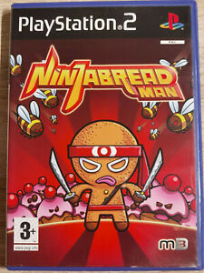Ninjabread Man sony PS2 PLAYSTATION 2 Schlank