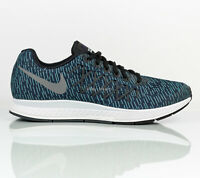 Nike Air Zoom Pegasus 32 Print Running Shoes Blue Stripe Men's size 10.5
