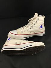 VTG Converse Chuck Taylor All Stars Made USA White High Top Sneakers Shoes Sz 7