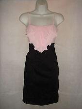 Women's Petite No Pattern Polyester Strappy, Spaghetti Strap Dresses