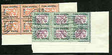 Finland # 153-4(135-6), Matched set of corner blocks of 6 tied by exhibit cxls