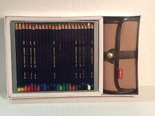 Derwent 24 Inktense Watercolor Pencils and Pencil Wrap