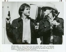 MICHAEL PARE MICHAEL BECK IN ACTION HOUSTON KNIGHTS ORIGINAL 1987 CBS TV PHOTO