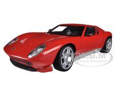LAMBORGHINI MIURA CONCEPT RED 1/24 DIECAST MODEL CAR BY MOTORMAX 73367