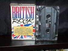 VARIOUS BRITISH ROCK - RARE AUSTRALIAN CASSETTE NM
