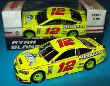 Ryan Blaney 2018 Peak Menards #12 Can-Am Duel #1 Win Ford 1/64 NASCAR Diecast