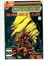 Crisis on Infinite Earths #8 DEATH of FLASH BARRY ALLEN! NM- 9.2 WHITE PAGES 1 7