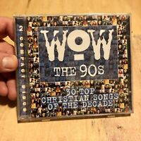 WOW The 90's (30 Top Christian Songs of the Decade) Various Artists, BN 2 CD Set