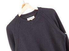 al1661 Ben Sherman Jersey Suéter Original Premium Básico Vintage DESTEÑIDO Talla